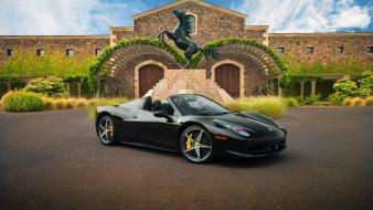 Ferrari 458 spider cars tuning wallpaper
