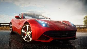 Ferrari f12 need for speed rivals beaches mountains wallpaper