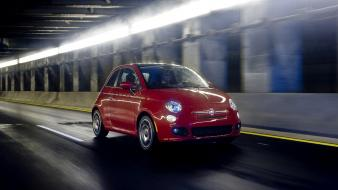 Fiat 500 cars wallpaper