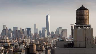 Freedom tower new york city architecture buildings cityscapes wallpaper