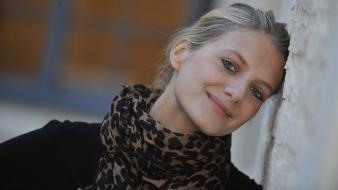 French melanie laurent actress blondes celebrity wallpaper