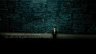 Galileo galilei chalkboards classroom quotes wallpaper