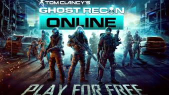 Game art characters ghost recon online tom clancy wallpaper