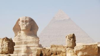 Giza sphinx wallpaper