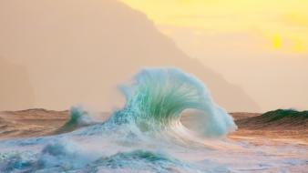Hawaii national geographic kauai nature sea Wallpaper