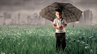 Hdr photography photo manipulation umbrellas wallpaper