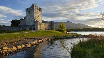Ireland national park castle wallpaper