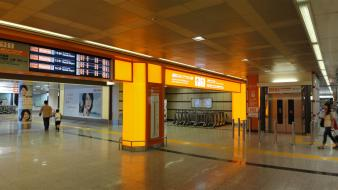 Japan airports panorama station underground wallpaper
