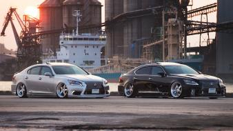 Japan lexus ls460 2012 stance wallpaper