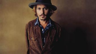 Johnny depp actors hats men wallpaper