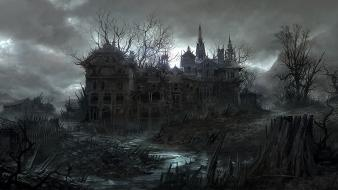 Jonasdero abandon abandoned house ruins wallpaper