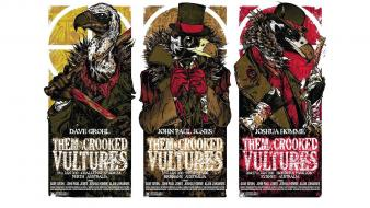 Jones them crooked vultures fan art music Wallpaper