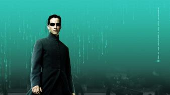 Keanu reeves matrix reloaded neo the wallpaper