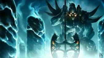 League of legends sion axes Wallpaper