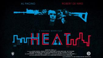 Mann robert de niro fan art heat Wallpaper