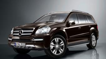 Mercedes-benz gl350 brown cars wallpaper