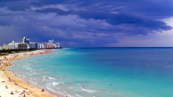 Miami beach wallpaper