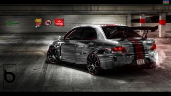 Mitsubishi lancer cars engines wallpaper