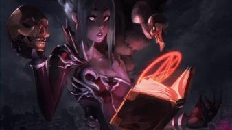 Necromancer artwork books magic necromancy wallpaper