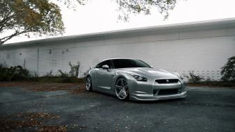 Nissan gt-r r35 cars rims stance tuned wallpaper