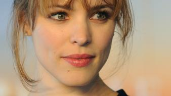 Rachel mcadams actress brunettes celebrity faces wallpaper