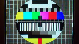 Tv retro television test pattern wallpaper
