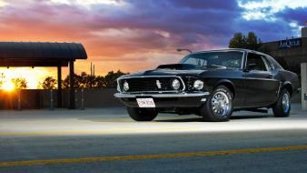 1969 ford mustang cars muscle vehicles wallpaper