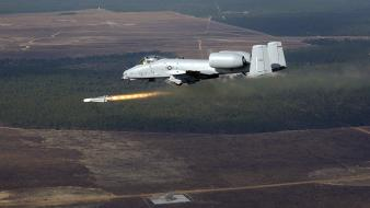 A-10 thunderbolt ii agm-65 aircraft missiles wallpaper