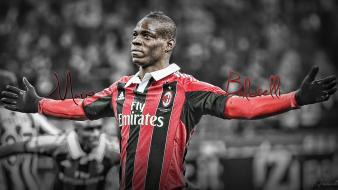 Ac milan mario balotelli football players soccer sports wallpaper