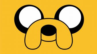 Adventure time jake the dog dogs faces wallpaper