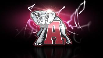 Alabama football logo wallpaper