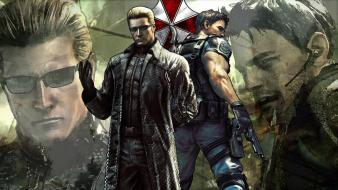 Albert wesker chris redfield resident evil 5 characters wallpaper