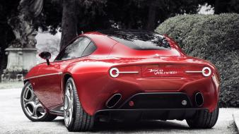 Alfa romeo disco volante roméo cars wallpaper