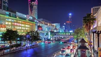 Bangkok cities cityscapes wallpaper