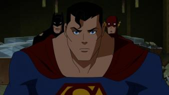 Batman dc comics flash superhero superman animation wallpaper