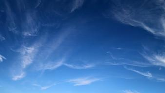 Blue nature sky wallpaper