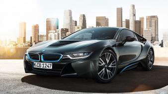 Bmw i8 black wallpaper