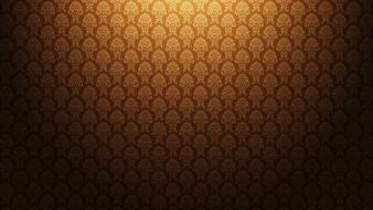 Brown pattern background wallpaper