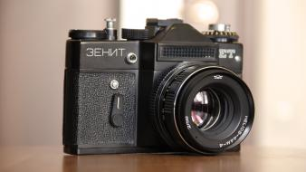 Cameras vintage zenit camera wallpaper