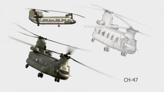 Ch47 chinook aircraft aviation military wallpaper