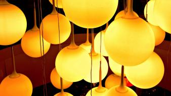 Chandelier lamps wallpaper