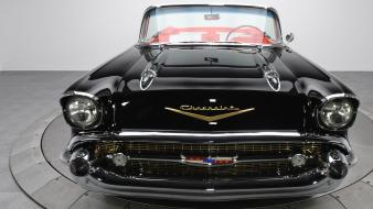 Chevrolet bel air classic cars convertible quad wallpaper
