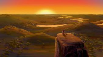 Disney company mufasa sun the lion king lions wallpaper