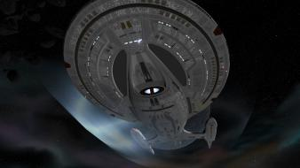 Enterprise star trek astronomy outer space science fiction wallpaper