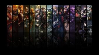 Ezreal gangplank garen league of legends lee sin wallpaper