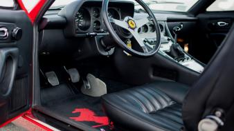 Ferrari 365 gtc/4 cars dashboard dashboards wallpaper
