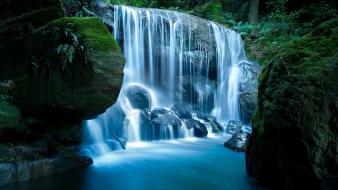 Forest waterfall images wallpaper