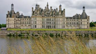 French architecture castles Wallpaper