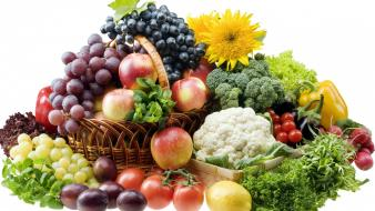 Fruits and vegetables wallpaper