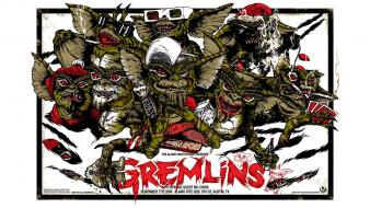 Gremlins artwork creatures fan art movies wallpaper